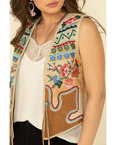 Tasha Polizzi Women's Tan Field Day Vest, Tan, hi-res