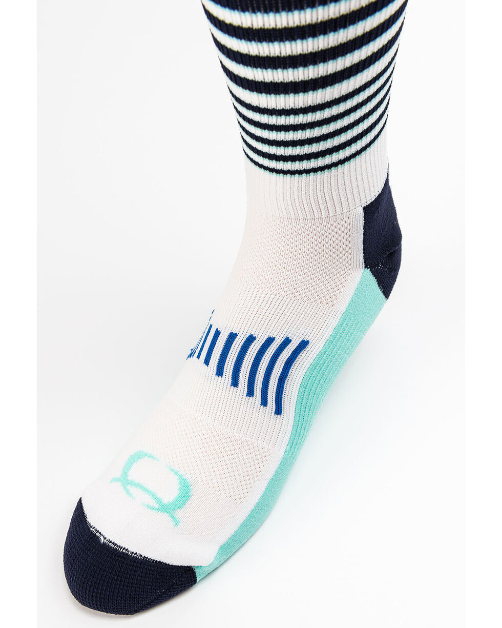 Cinch Women's Striped Socks, Multi, hi-res
