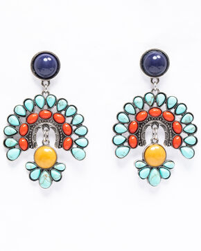 Shyanne Women's Isla Jane Multi-Colored Firework Earrings, Multi, hi-res