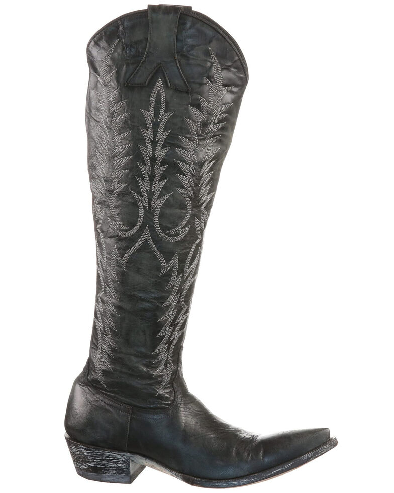 Old Gringo Women's Mayra Western Boots - Round Toe, Black, hi-res