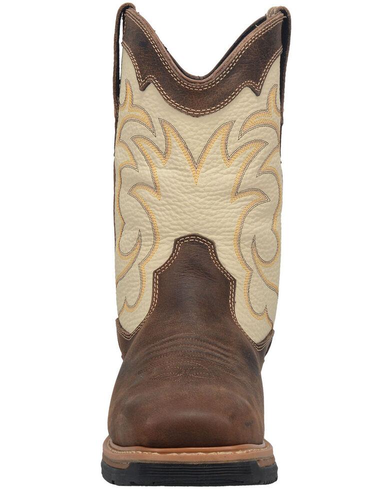 Dan Post Men's Storm Tide Waterproof Western Work Boots - Composite Toe, Ivory, hi-res