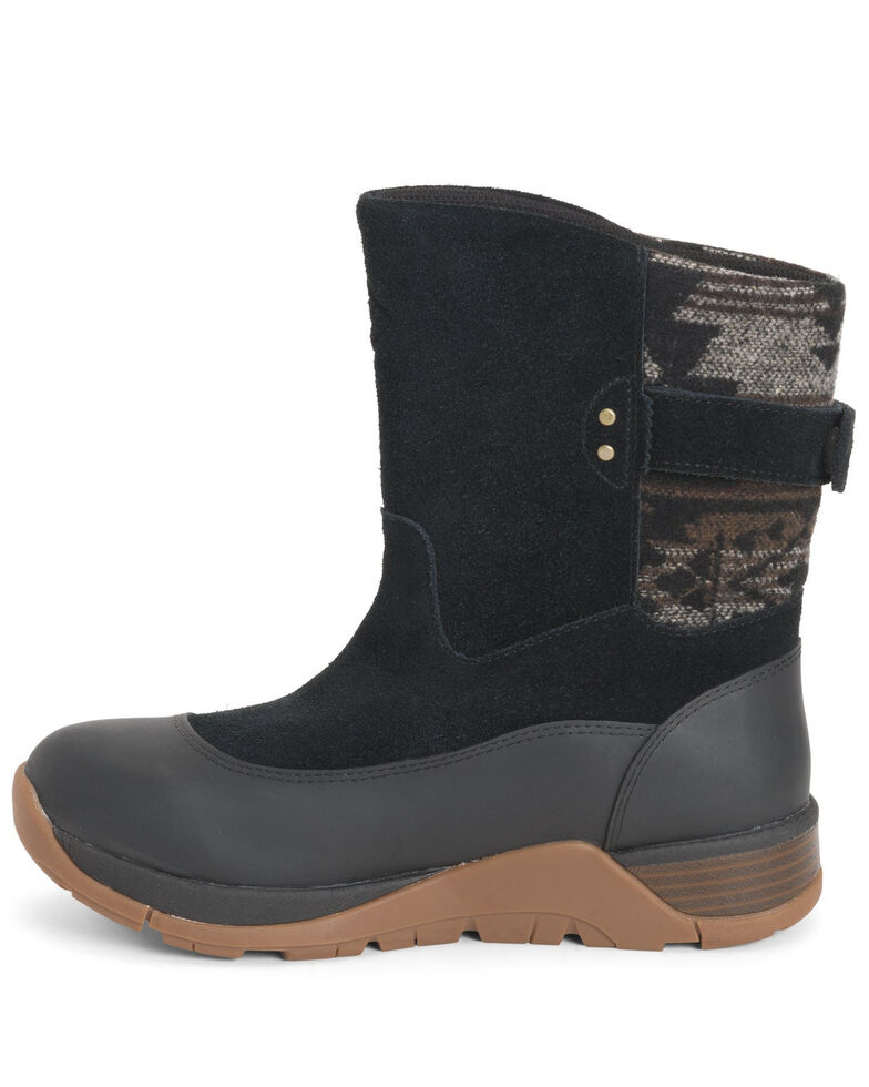 Muck Boots Women's Apres II Outdoor Boots - Round Toe, Black, hi-res