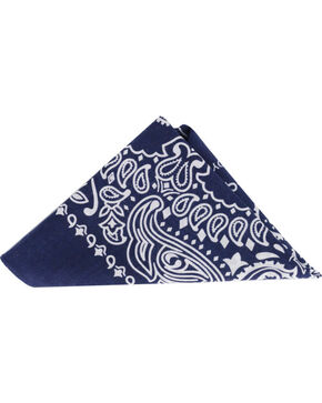 Cody James Men's Western Bandana  , Navy, hi-res
