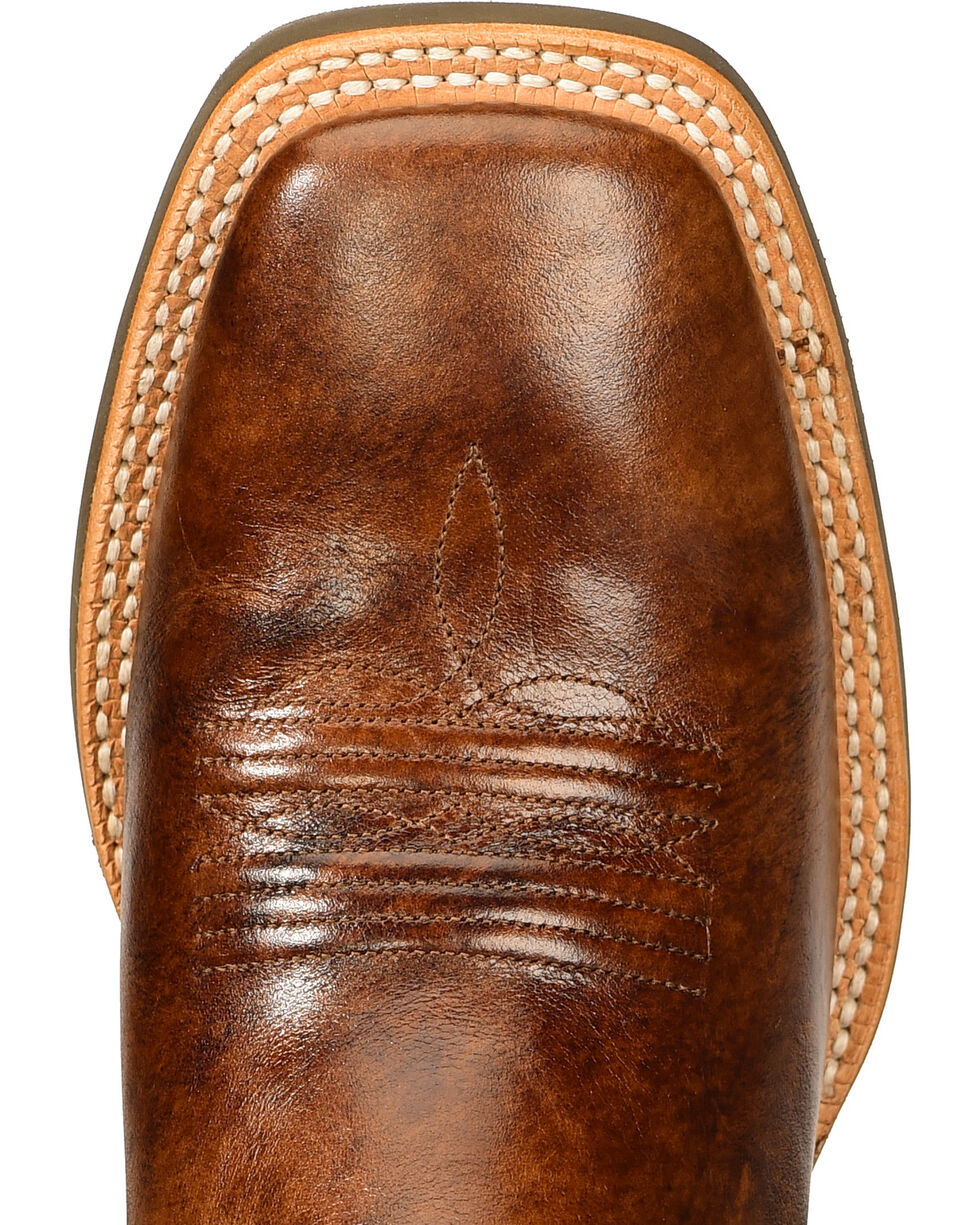 Ariat Crossfire Performance Western Boots - Square Toe, Buckskin, hi-res
