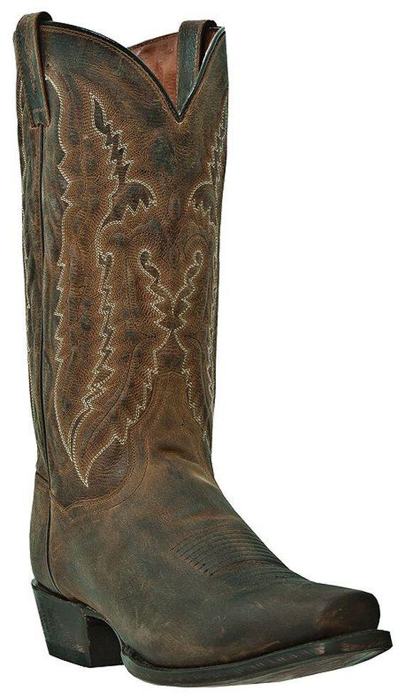 Dan Post Men's Earp Cowboy Boots - Square Toe, Bay Apache, hi-res
