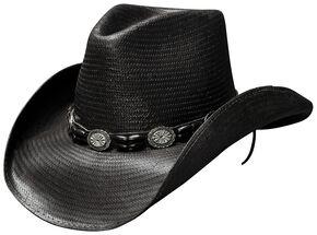 4b595ec8ea5c3 Bullhide Black Hills Shantung Panama Straw Cowboy Hat