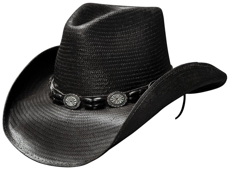 0b8fd1f64f304 Bullhide Black Hills Shantung Panama Straw Cowboy Hat - Country ...