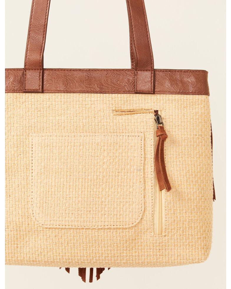 Shyanne Women's Summer Beach Tote Bag, Tan, hi-res