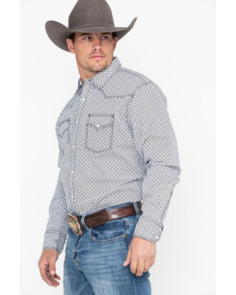 Wrangler 20X Men's Black Competition Advanced Long Sleeve Western Shirt, Black, hi-res