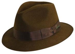 30276384c86 Indiana Jones Pinch Front Wool Felt Fedora Hat