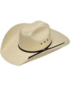 Twister Men's 20X Ivory Shantung Straw Cord Western Hat , Natural, hi-res