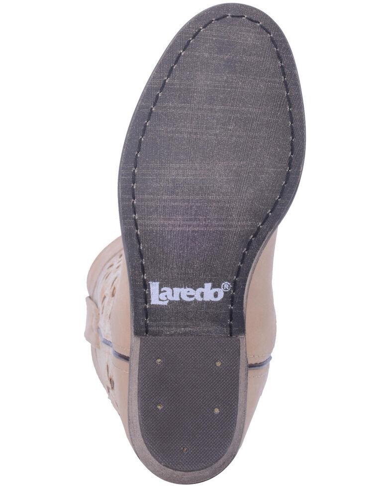 Laredo Women's Daisy Western Booties - Round Toe, Tan, hi-res