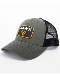 ae71a60e25d Hawx® Men s Grey Patch Logo Trucker Cap