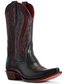 Ariat Women's Tailgate Black Western Boots - Snip Toe, Black, hi-res