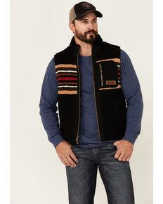 Pendleton Men's Black Ridgeline Fleece Vest , Black, hi-res