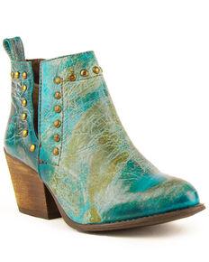 Ferrini Women's Stella Fashion Booties - Round Toe, Multi, hi-res