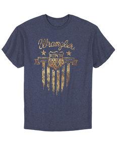 Wrangler Men's Navy 1947 Shield Graphic Short Sleeve T-Shirt , Navy, hi-res