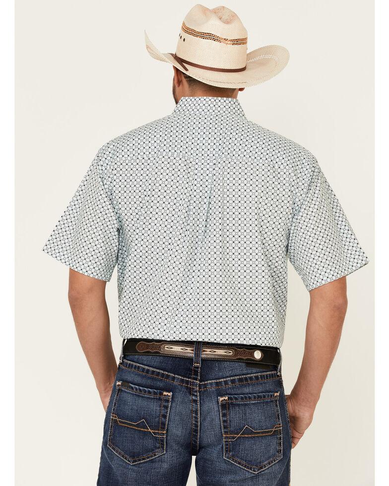Cinch Men's Multi Geo Print Short Sleeve Button-Down Western Shirt - Big , Multi, hi-res