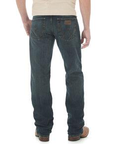 Wrangler 20X Men's Advanced Comfort Root Beer Competition Slim Fit Jeans   , Blue, hi-res