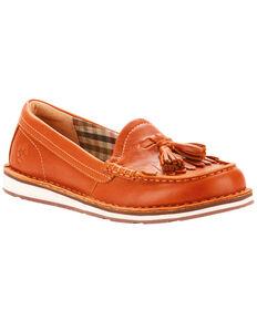 Ariat Women's Tassel Cruiser Honeycomb Shoes , Suntan, hi-res