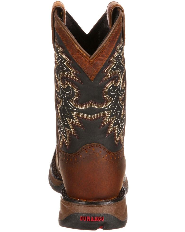 Durango Boys' Lil' Durango Western Boots - Square Toe, Brown, hi-res