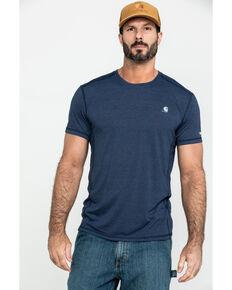 Carhartt Men's Navy Force Extremes Lightweight Work T-Shirt , Navy, hi-res