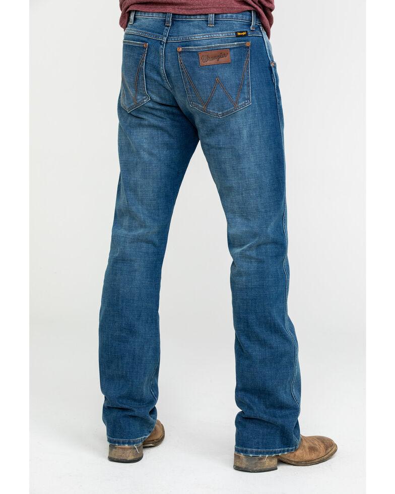 Wrangler Retro Men's Kyle Premium Slim Bootcut Jeans , Blue, hi-res