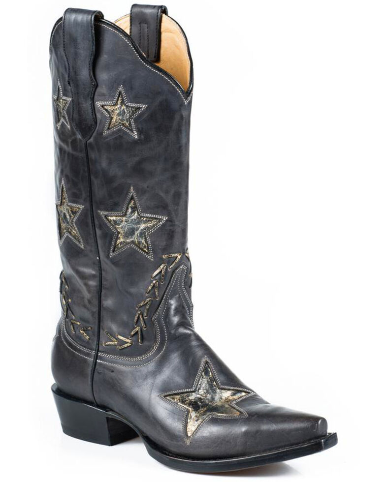stetson-star-cowgirl-boots---snip-toe by stetson