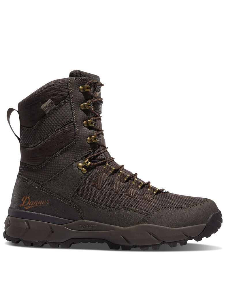 Danner Men's Vital Brown Hiking Boots - Soft Toe, Brown, hi-res
