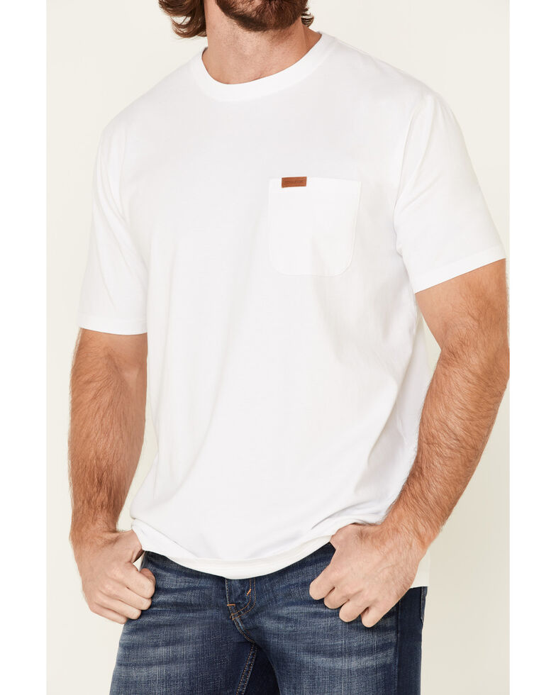 Pendleton Men's White Deschutes Pocket Short Sleeve T-Shirt , White, hi-res