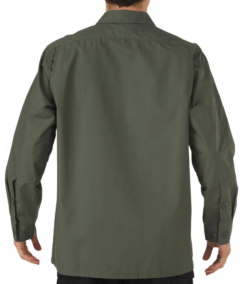 5.11 Tactical Ripstop TDU Long Sleeve Shirt - 3XL and 4XL, Green, hi-res