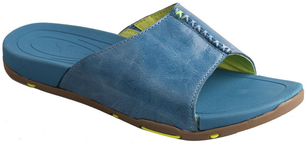 Twisted X Women's Ocean Blue Sandals, Blue Dust, hi-res