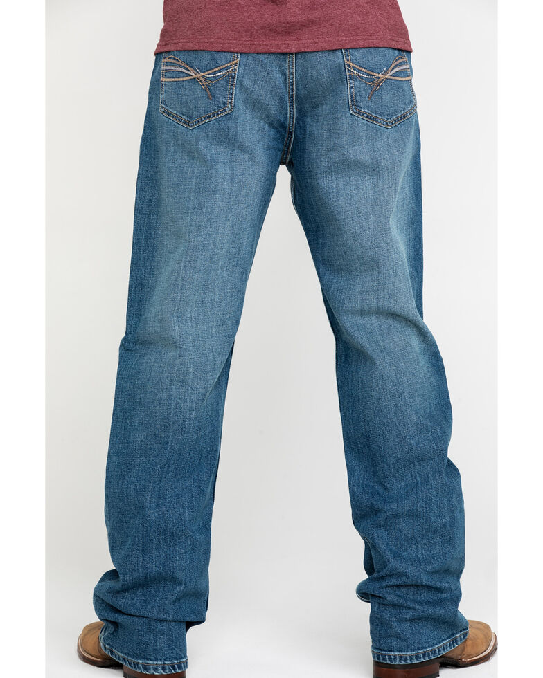 Wrangler 20X Men's No.33 Roxton Extreme Relaxed Straight Jeans , Blue, hi-res