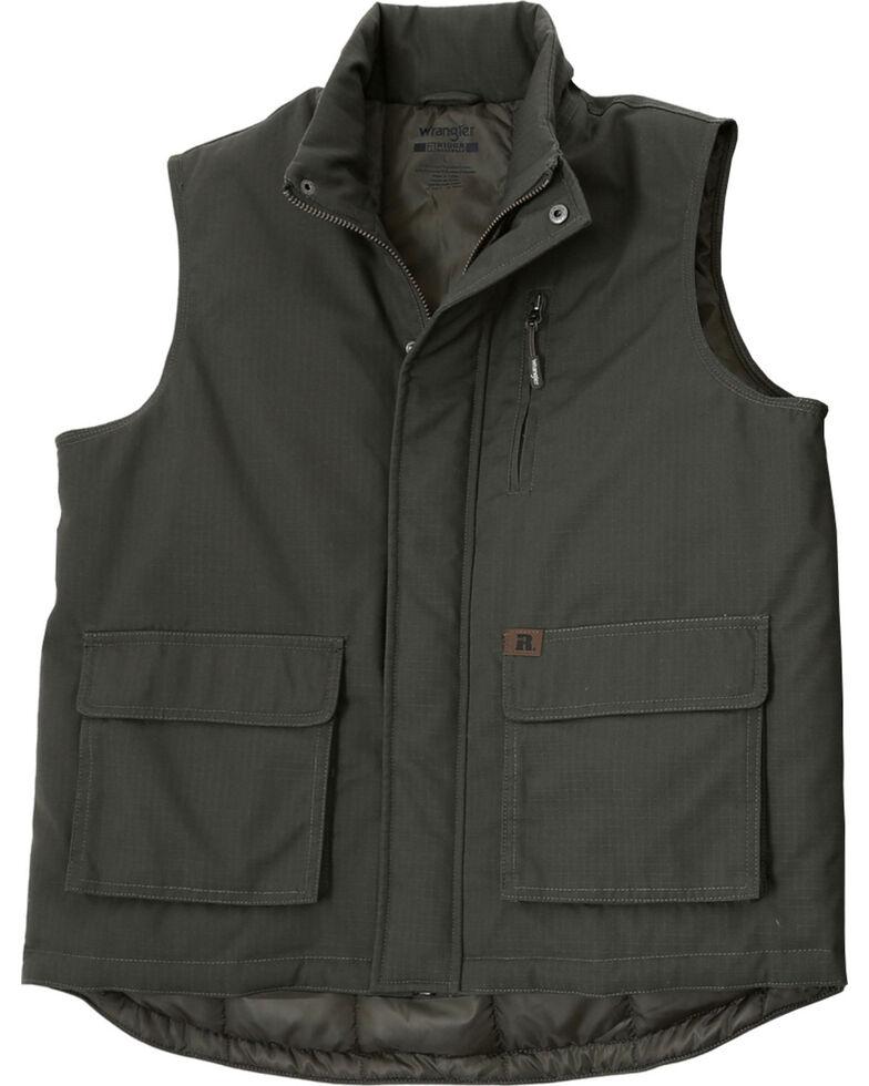 Wrangler Men's RIGGS Workwear Foreman Vest, Loden, hi-res