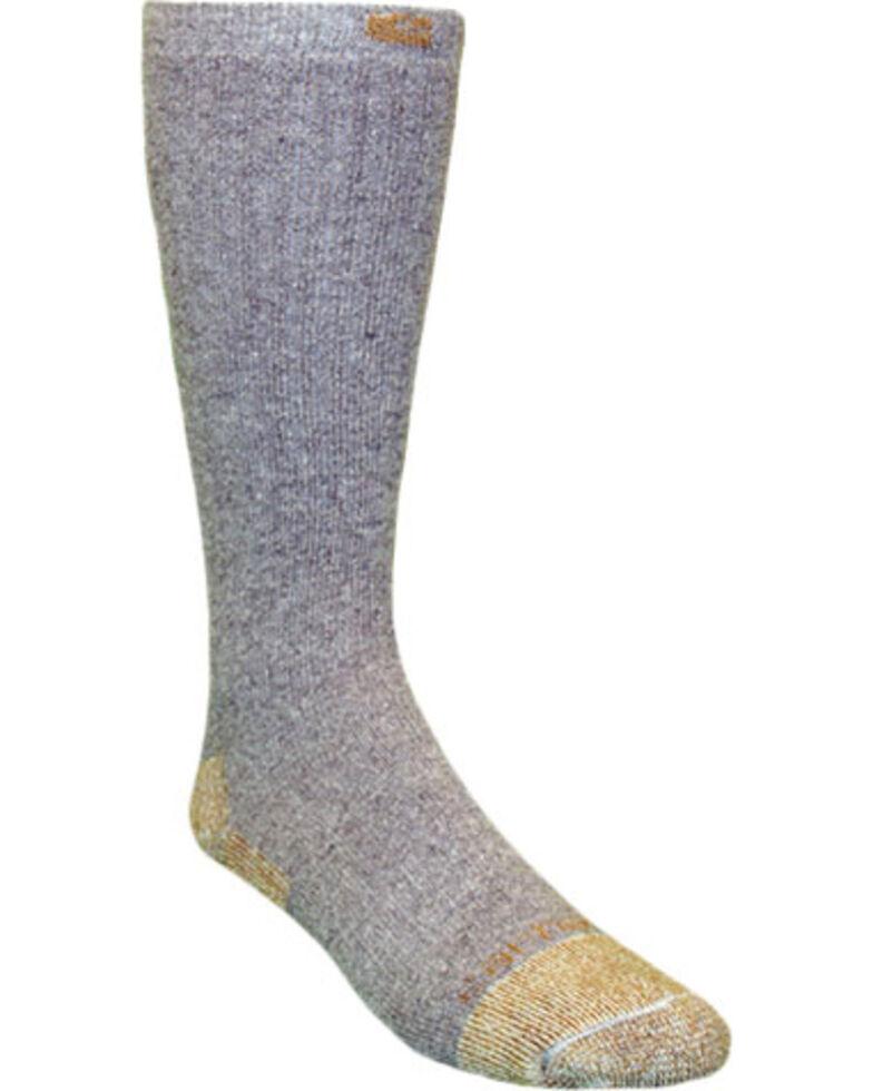 Carhartt Grey Full Cushion Steel-Toe Cotton Work Boot Socks - 2 Pack, Grey, hi-res
