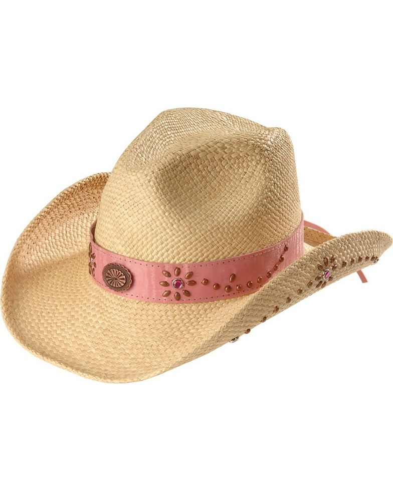 Bullhide Girls  Daughter of the West Straw Cowgirl Hat - Country ... 70b86065412