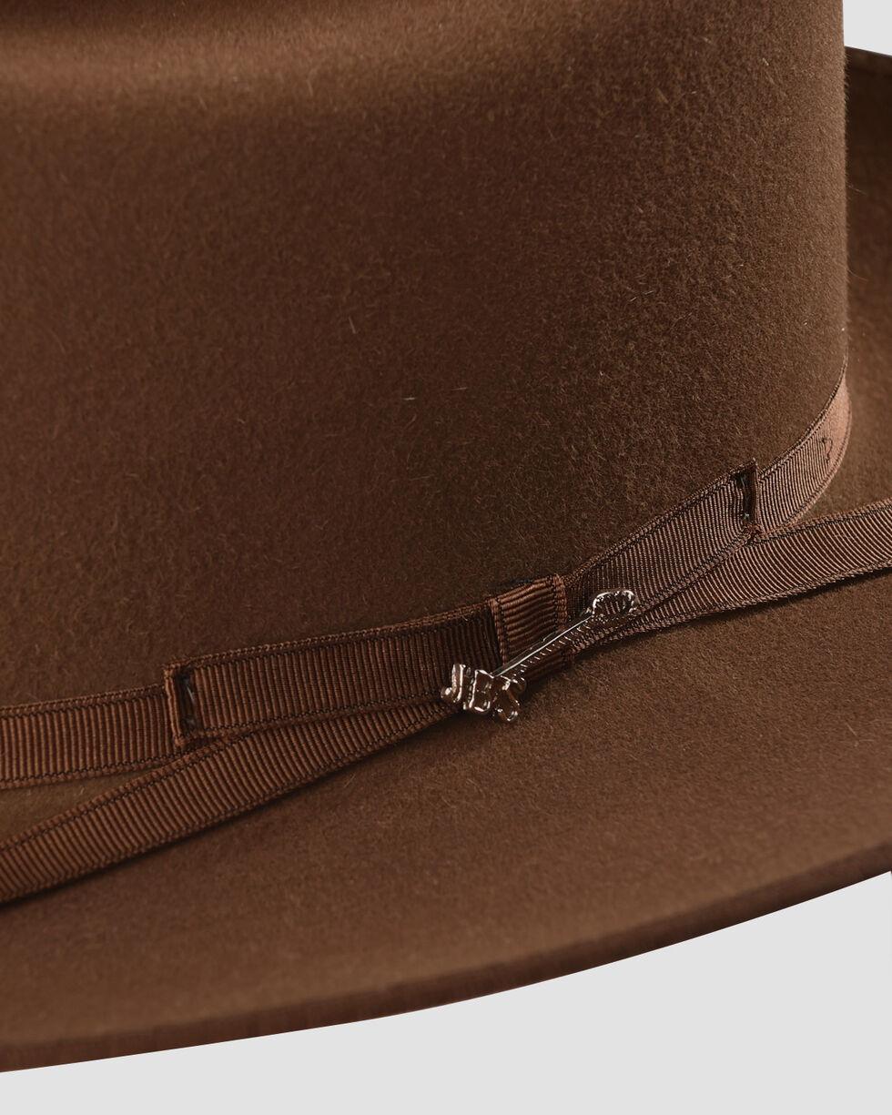Stetson Men's Royal Deluxe Open Road Hat , Brown, hi-res