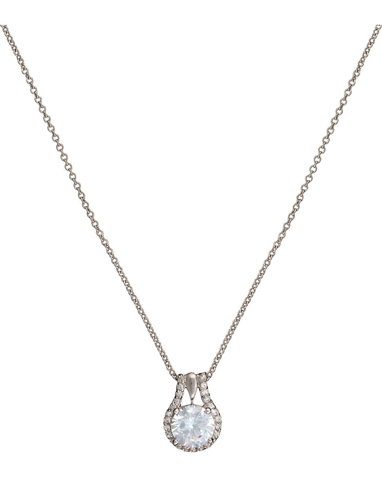 Montana Silversmiths Star Lights Center of My Universe Necklace, Silver, hi-res