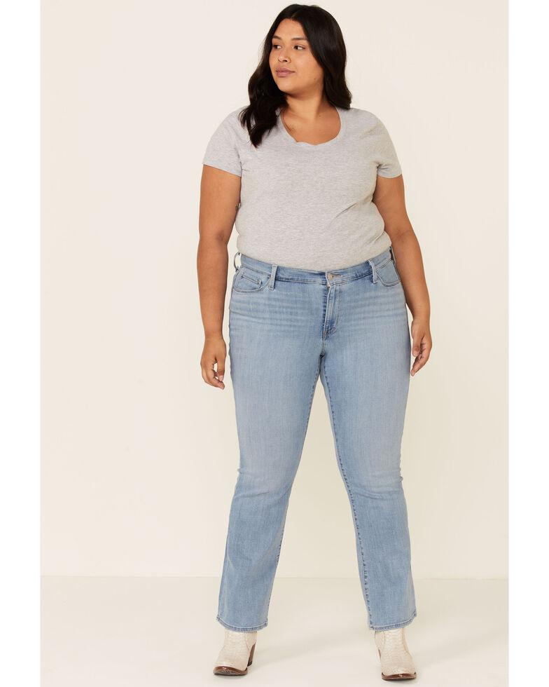 Levi's Women's Oahu Clouds Bootcut Jeans - Plus, Blue, hi-res