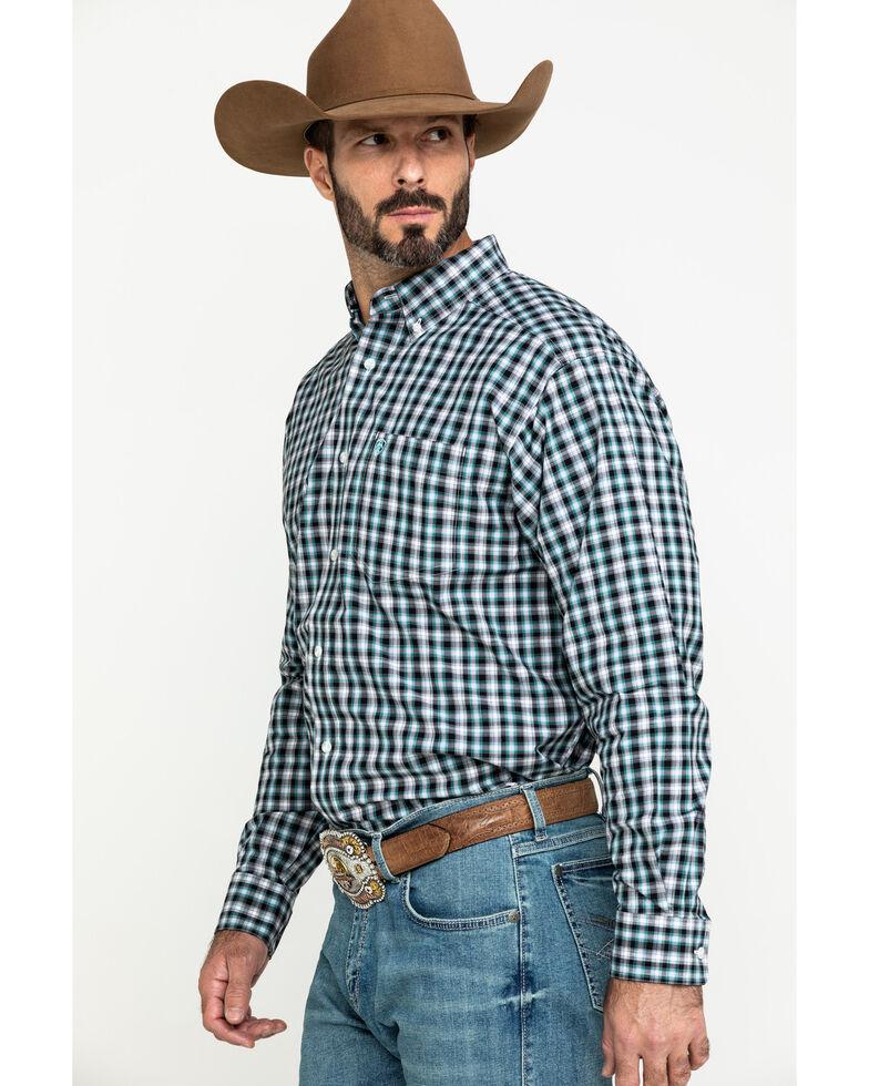 Ariat Men's Keene Multi Plaid Long Sleeve Western Shirt - Big , Multi, hi-res