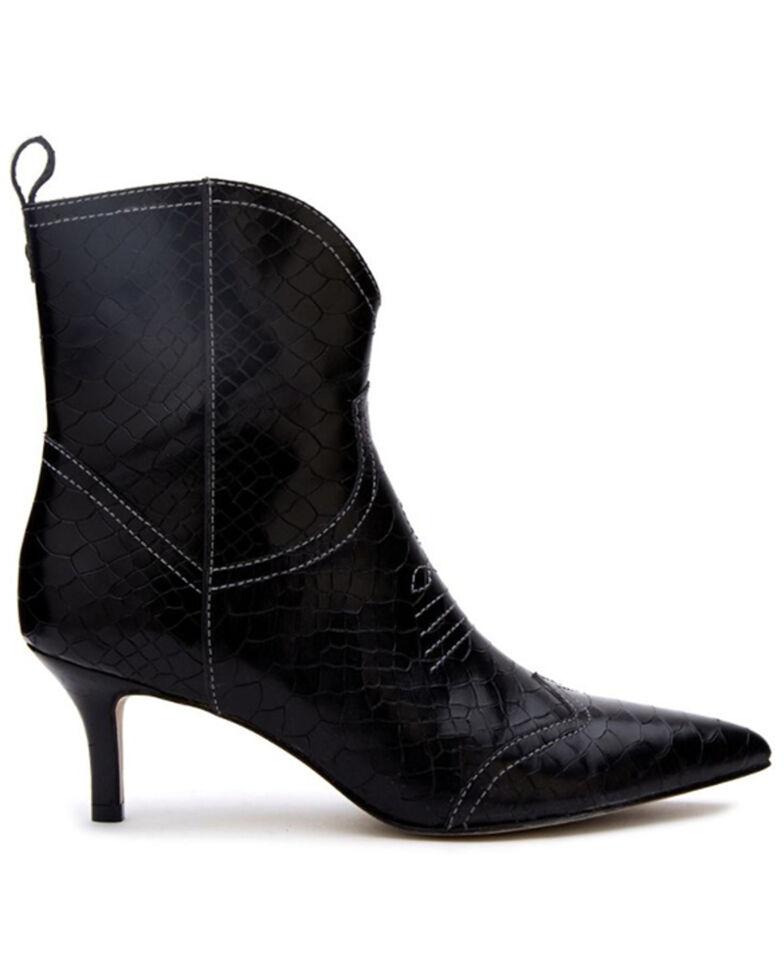 Matisse Women's Aubrey Fashion Booties - Pointed Toe, Black, hi-res