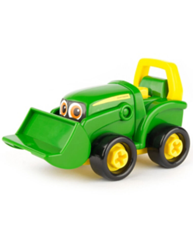 Tomy Boys' John Deere Build-A-Buddy Bonnie Scoop Tractor, Multi, hi-res
