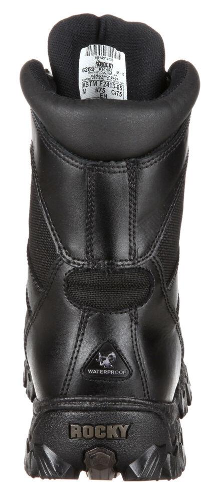Rocky AlphaForce Waterproof Puncture Resistant Work Boots - Composite Toe, Black, hi-res