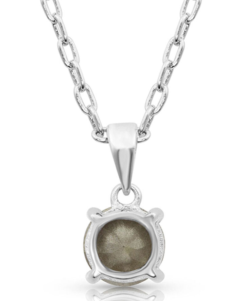 Montana Silversmiths Women's Gleaming Twilight Necklace, Silver, hi-res