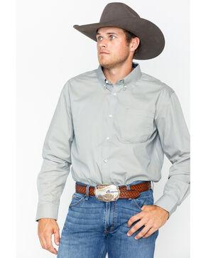 Cody James Men's Asher Geo Print Shirt - Big & Tall , Blue/white, hi-res