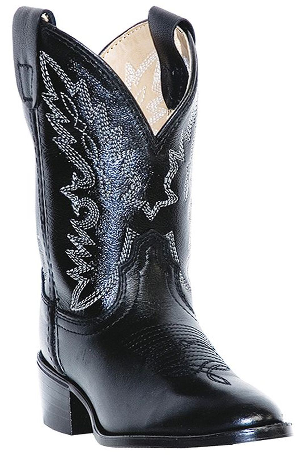 Dan Post Youth Boys' Shane Cowboy Boots - Round Toe, , hi-res