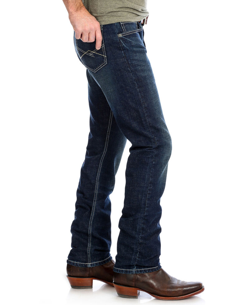 Wrangler 20X Men's No. 44 Kasey Slim Straight Long Jeans , Blue, hi-res