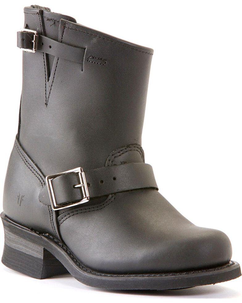 Frye Women's Engineer 8R Boots - Round Toe, Black, hi-res