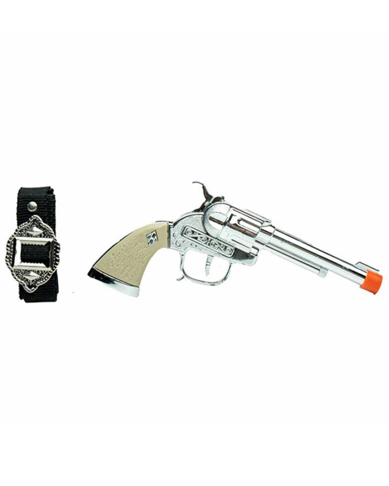 Parris Boys' Stagecoach Single Holster Gun Set, No Color, hi-res