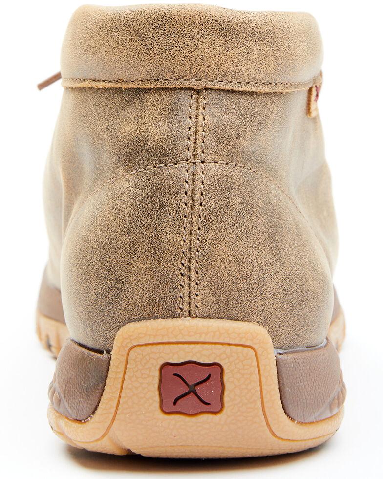 Twisted X Men's Weave Print Chukka Shoes - Moc Toe, Brown, hi-res